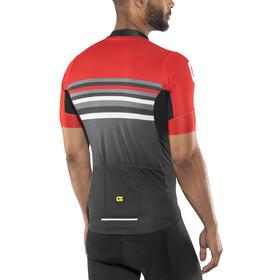 Alé Cycling Formula 1.0 Stripe Short Sleeve Jersey Men black-red